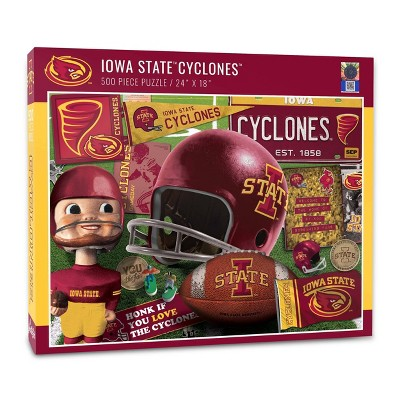 NCAA Iowa State Cyclones Throwback Puzzle 500pc