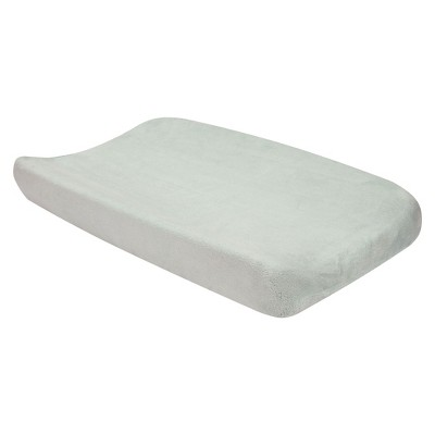 Gray Changing Pad Cover
