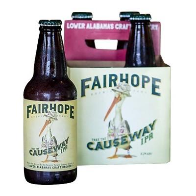 Fairhope Take the Causeway IPA Beer - 4pk/12 fl oz Bottles