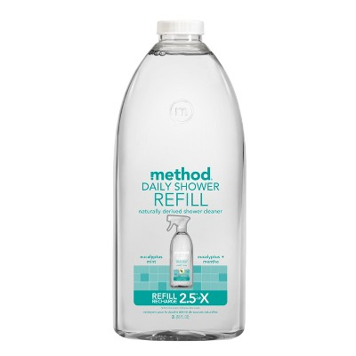 Method Cleaning Products Daily Shower Cleaner Refill Eucalyptus Mint 68 Fl Oz