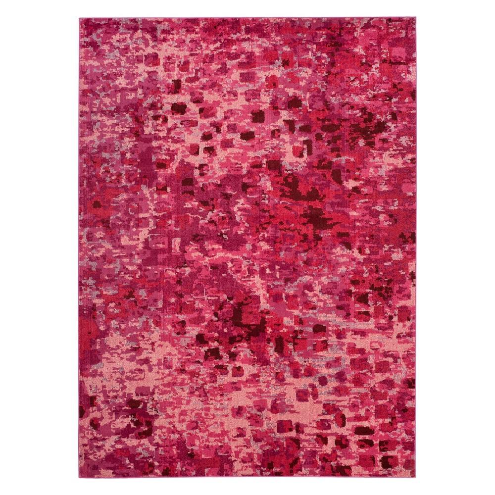 8'X11' Shapes Area Rug Fuchsia (Pink) - Safavieh