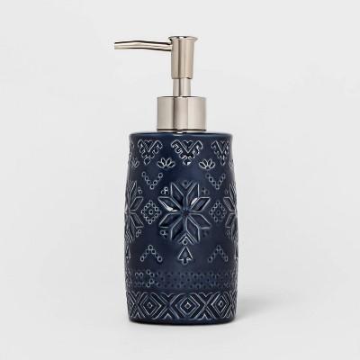 Fair Isle Soap Pump Blue - Threshold™