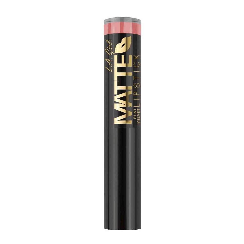 L A Girl Matte Flat Velvet Lipstick Hush 0 1oz