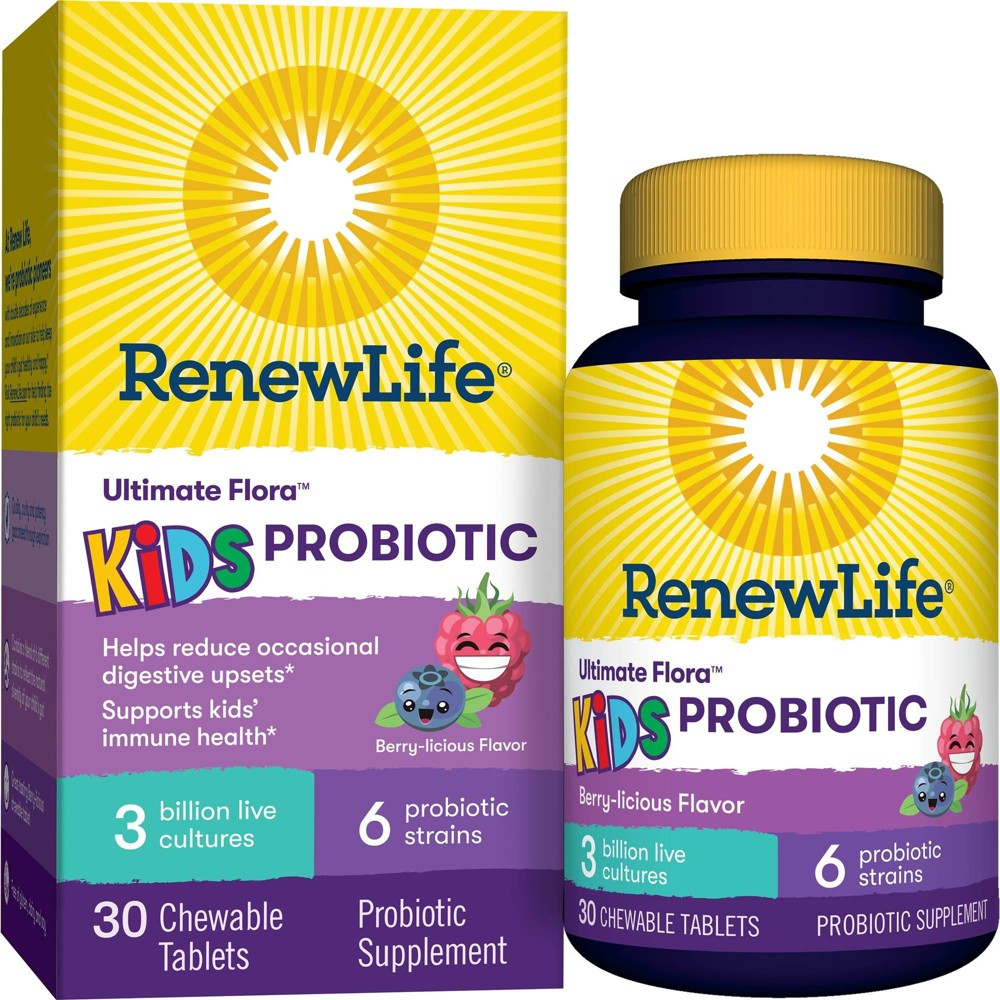ReNew Life Kids Chewable Probiotic - 30ct