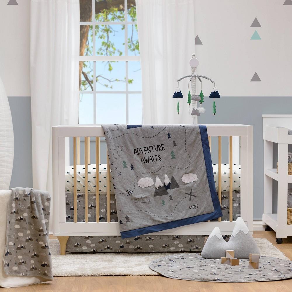 Image of Lolli Living Crib Bedding Set - Peaks - 4pc