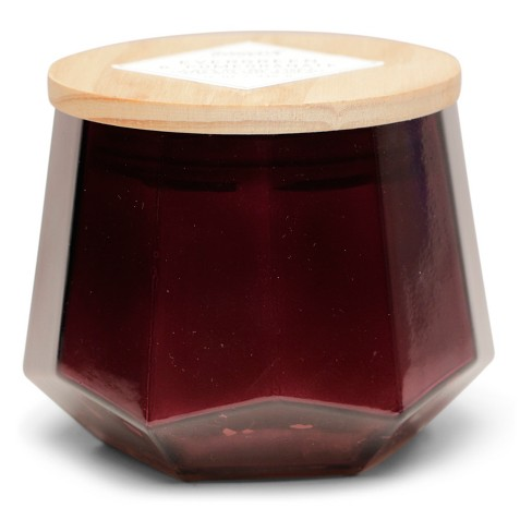 12oz Dodeca Glass Jar 3-Wick Candle Evergreen Pomegranate - Vineyard Hill Naturals By Paddywax - image 1 of 2