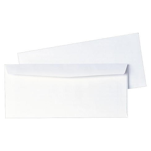 Quality Park™ Business Envelope, Contemporary, #10, White, 1000/Box - image 1 of 1