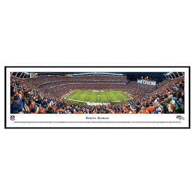 NFL Blakeway Stadium 50 Yard Line View Standard Framed Wall Art