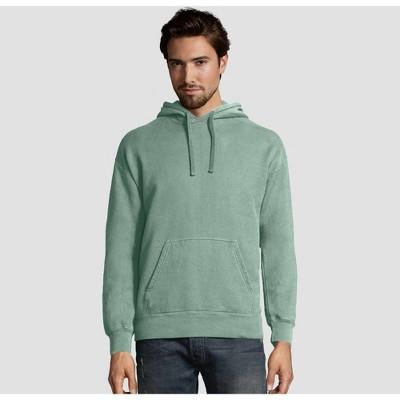 Hanes Men's Comfort Wash Fleece Pullover Hooded Sweatshirt