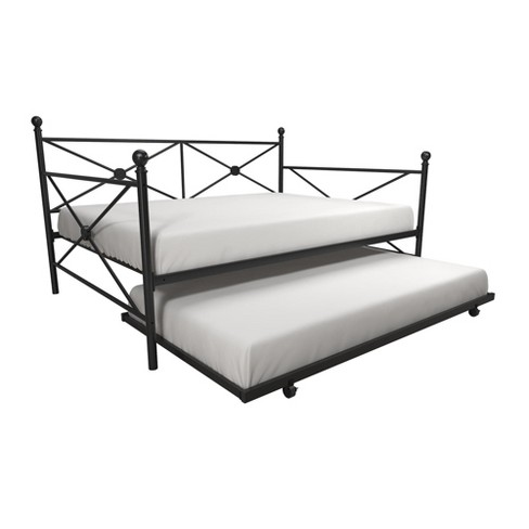 Laura Classic Metal Daybed With Trundle Room Joy Target