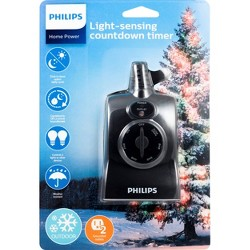 Philips Dusk to Dawn Countdown Timer Outdoor 8/6/4/2hr 2 Outlet Grounded