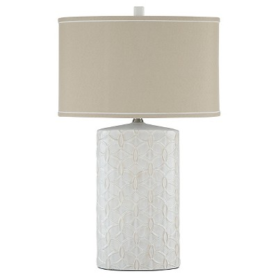 Shelvia Table Lamp Antique White - Signature Design by Ashley
