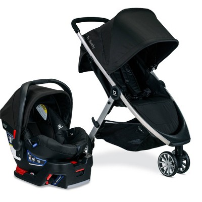 Britax B-Lively And B-Safe 35 Travel System - Raven