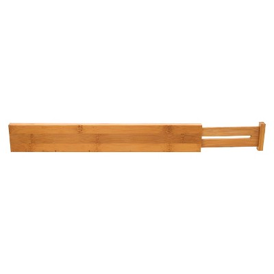 Lipper International Bamboo Kitchen Drawer Dividers - Set of 2