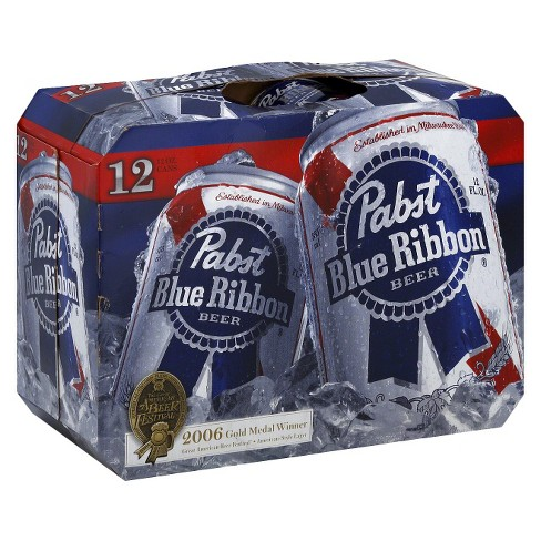 Pabst Blue Ribbon® Beer - 12pk / 12 fl oz Cans - image 1 of 1