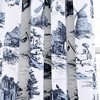 Set of 2 French Country Toile Room Darkening Window Curtain Panels  - Lush Décor - image 3 of 4