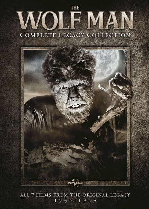 Wolf man:Complete legacy collection (DVD) - image 1 of 1