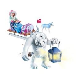 Playmobil Yeti with Sleigh Set