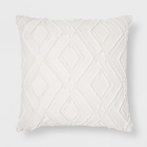 Cutout Throw Pillow - Cream - Threshold™ - image 1 of 1