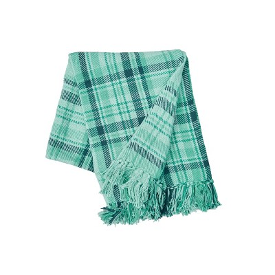 """C&F Home McKinley Plaid Cotton Quilted 50"""" x 60"""" Throw Blanket"""