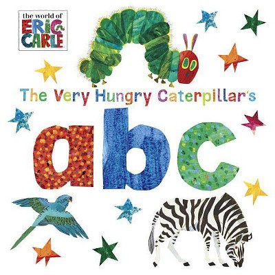The Very Hungry Caterpillar's ABC by Eric Carle (Board Book)