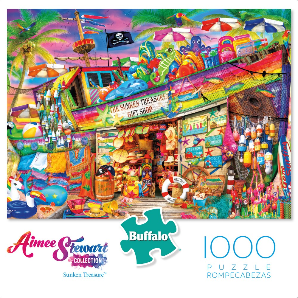Buffalo Games Aimee Stewart Puzzle - Sunken Treasure 1000pc