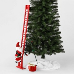 Large Climbing Santa Decorative Figurine Red - Wondershop™