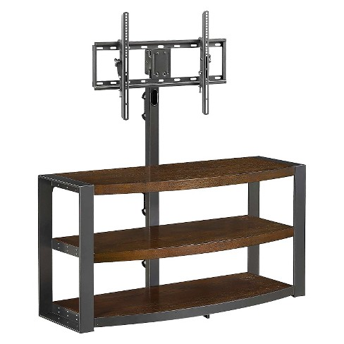 "Santa Fe 3-in-1 TV Stand Gunmetal 65"" - Whalen - image 1 of 6"