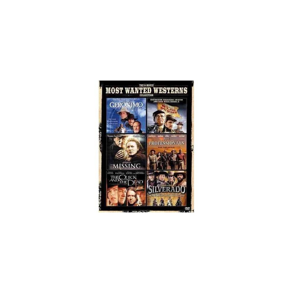 Most Wanted Western (Dvd)