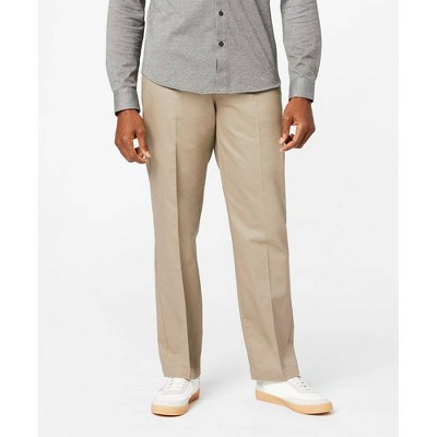 Dockers Men's Signature Stretch Creaseless Flat Front Classic Fit Chino Pants