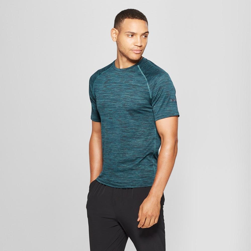 Men's Jacquard Running T-Shirt - C9 Champion Night Garden Heather XL