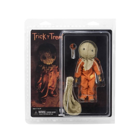 """Trick 'r Treat Sam 8"""" Clothed Action Figure image number null"""