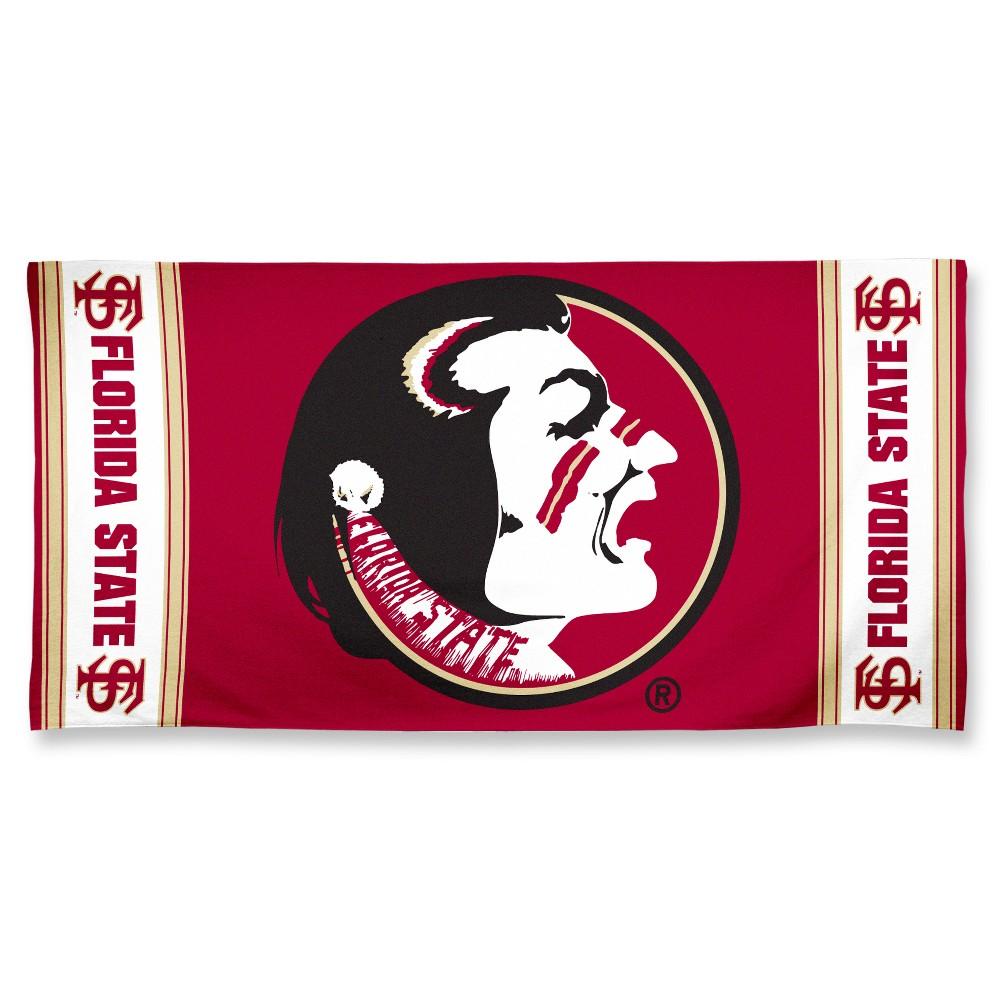 NCAA Florida State Seminoles Beach Bath Towel