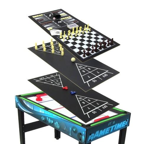 "Sunnydaze Decor 40"" 10-in-1 Multi Game Table - image 1 of 4"