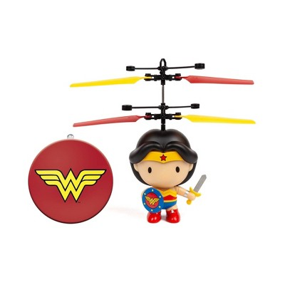 "World Tech Toys DC Wonder Woman 3.5"" Flying Character UFO Helicopter"