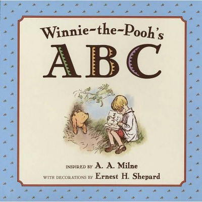 Winnie-The-Pooh's ABC - by A A Milne (Board_book)