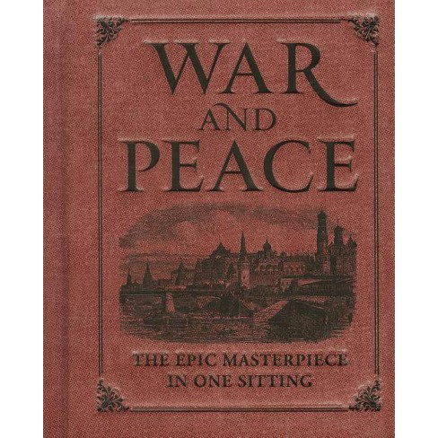 War and Peace - (Miniature Editions) by  Joelle Herr (Hardcover) - image 1 of 1