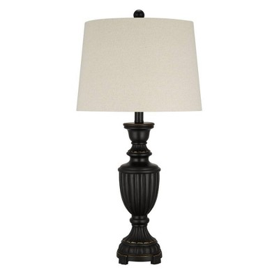 "28"" Faux Wood Table Lamp - Cresswell Lighting"