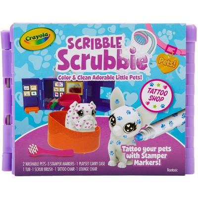 Crayola Scribble Scrubbie Pets! Tattoo Shop