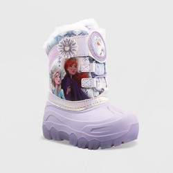 Toddler Girls' Frozen Winter Boots - Purple