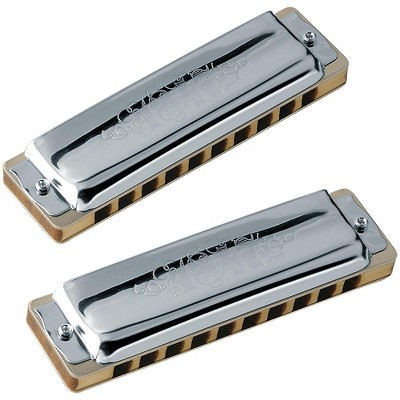 SEYDEL Set of  7 - Blues 1847 CLASSIC Harmonicas and Softcase