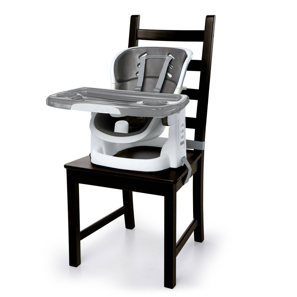 Image of Ingenuity Booster Seat - Slate, Gray