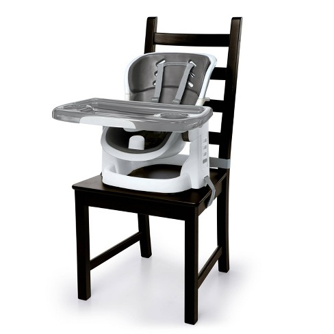 Ingenuity SmartClean ChairMate High Chair - Slate - Toddler Booster Seat