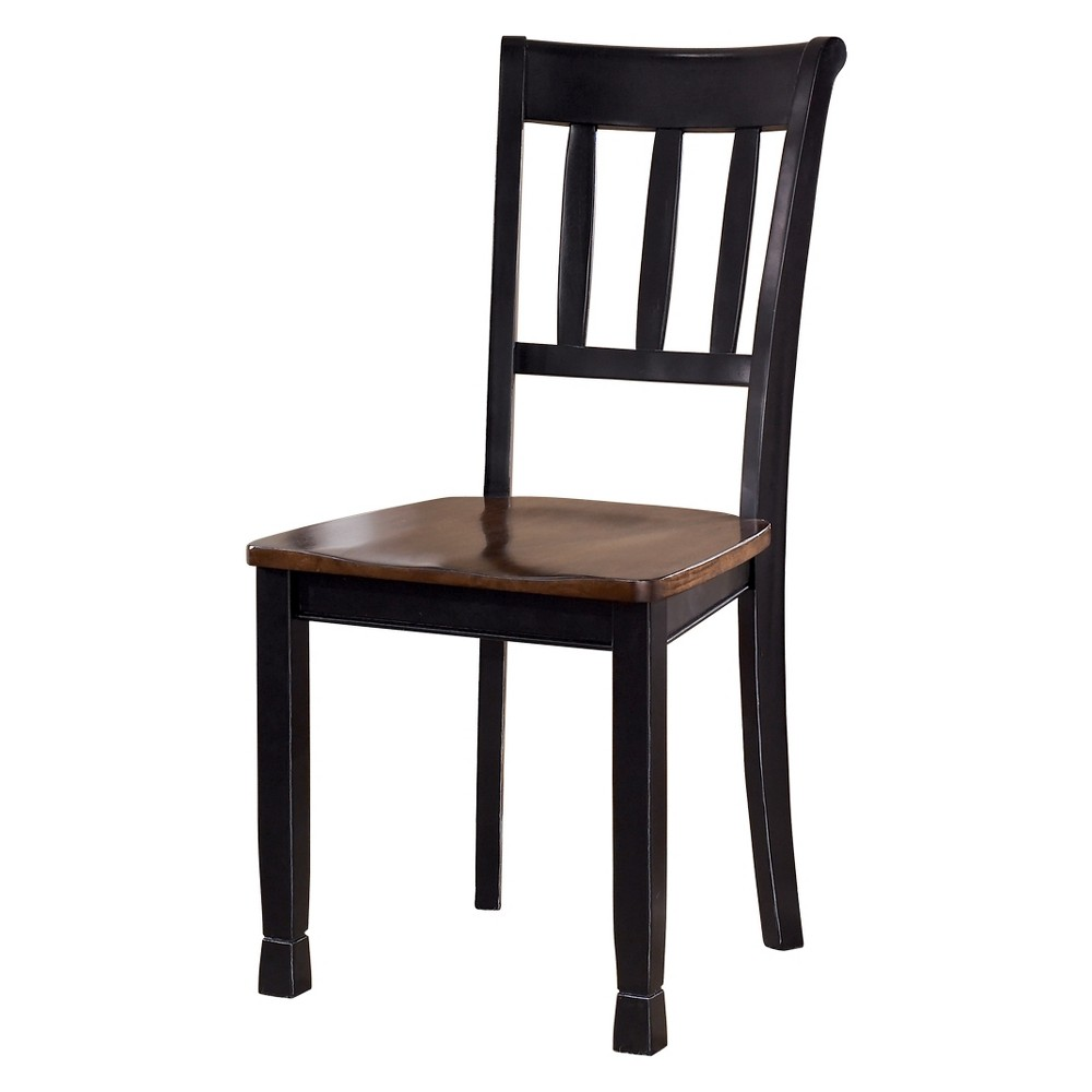 Image of 2pc Owingsville Dining Room Side Chair Brown - Signature Design by Ashley