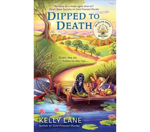 Dipped to Death -  (Berkley Prime Crime) by Kelly Lane (Paperback) - image 1 of 1