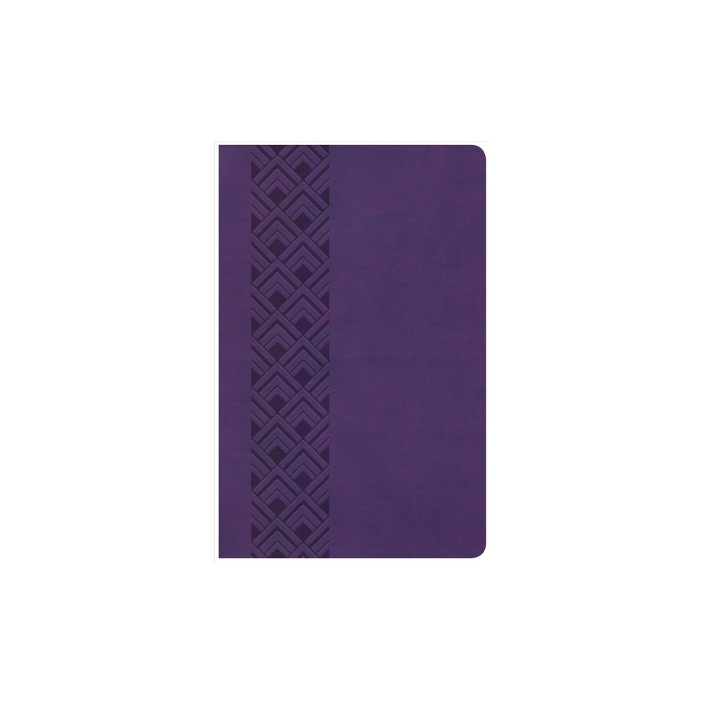 Holy Bible : King James Version, Purple Leathertouch Ultrathin Reference Value Edition - (Paperback)