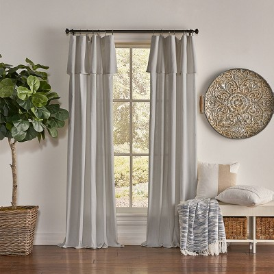 Drop Cloth Light Filtering Curtain Panel - Mercantile