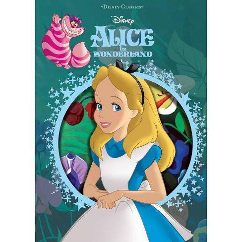 Disney Alice in Wonderland - (Disney Die-Cut Classics) (Hardcover) - image 1 of 1