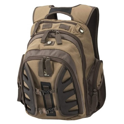 Insights 9302 The Element Heavy Duty 1,831 Cubic Inch Outdoor Hiking Fishing Camping Hunting Backpack with Rain Fly, Insights SE Brown Camouflage