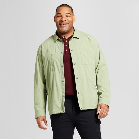 Men's Big & Tall Standard Fit Military Coach Jacket - Goodfellow & Co™ - image 1 of 3
